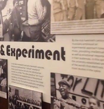 Still from Exhibit Walk Through Video