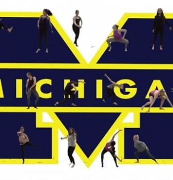 200@200 U-M Dance tribute video screenshot