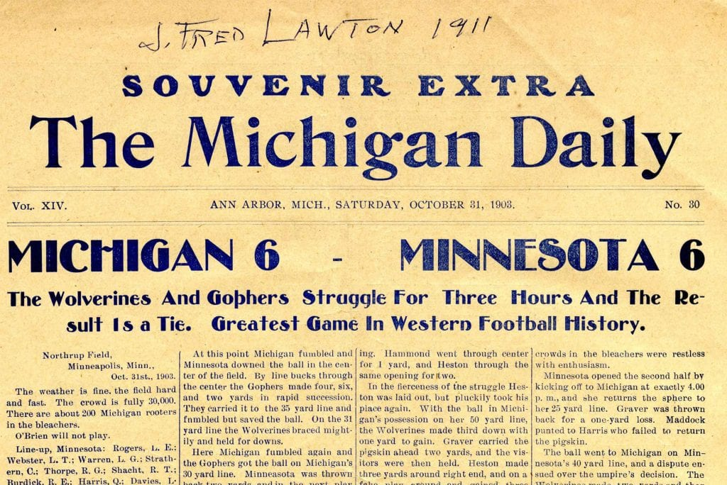 Michigan Daily Digital Archives