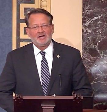 U.S. Sen. Gary Peters on the Bicentennial Video Screenshot
