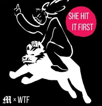She Hit it First Podcast Logo