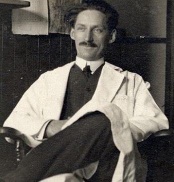 Portrait of James Gerrit Van Zwaluwenburg