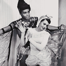 Dancers in Costume