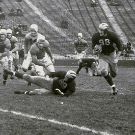 Tom Harmon, UM Football, vs Iowa 1939