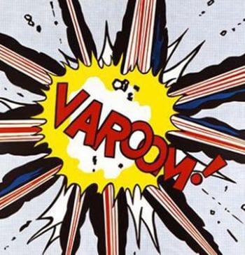 This Lichtenstein art was part of a groundbreaking 1963 exhibit at U-M