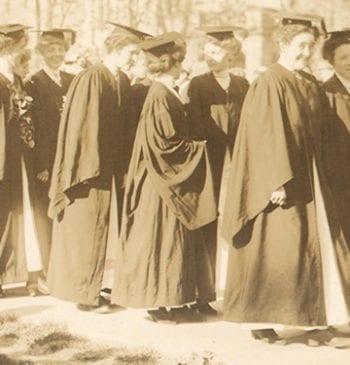 1912 academic procession