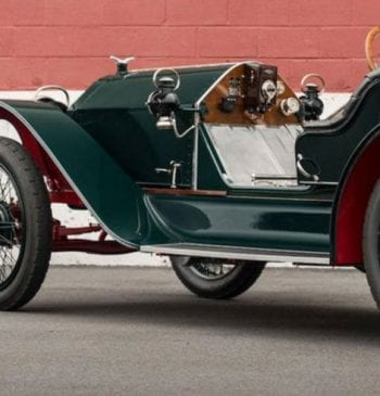 Stutz Bearcat of the type Mason traded up for